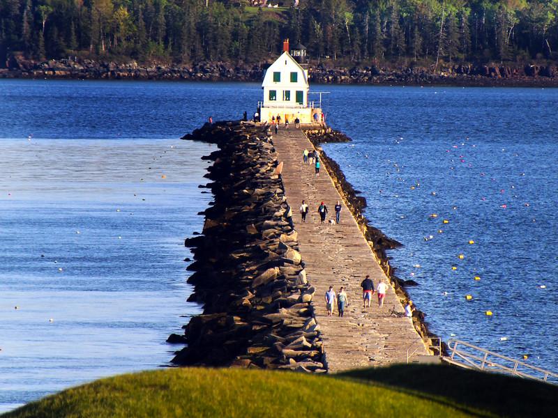 Rockport Maine, Samoset Resort Breakwater