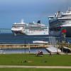 Rhode Island, Newport, Cruise Ships
