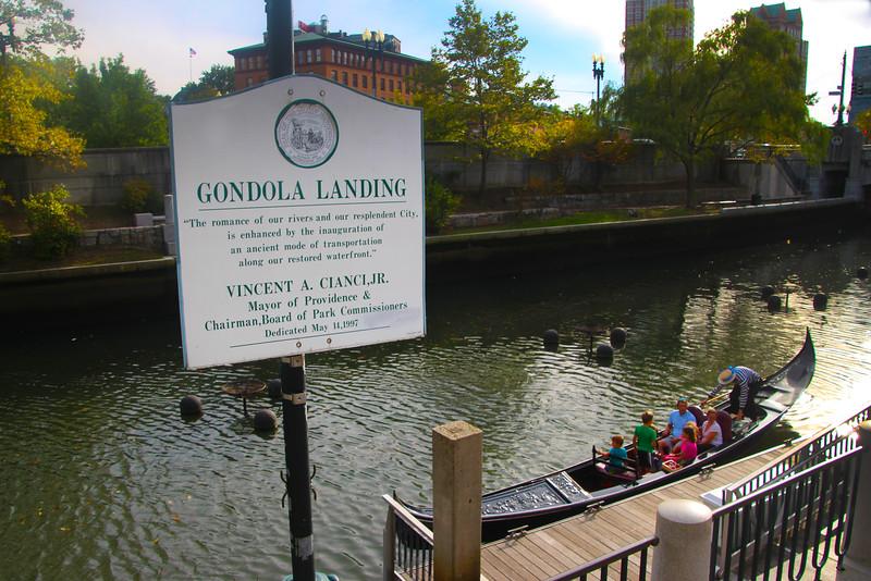 Rhode Island, Providence, Gondola
