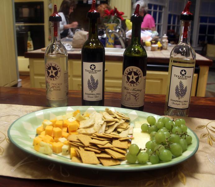 Brenham-Washington County Texas, Lillian Farms Bed & Breakfast, Wine Tasting