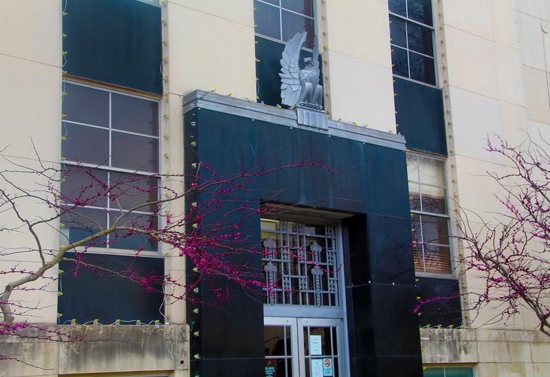 Brenham-Washington County Texas, Downtown Brenham, Art Deco Civic Building