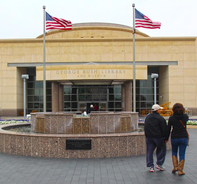 Brenham-Washington County Texas, George Bush Presidential Library & Museum