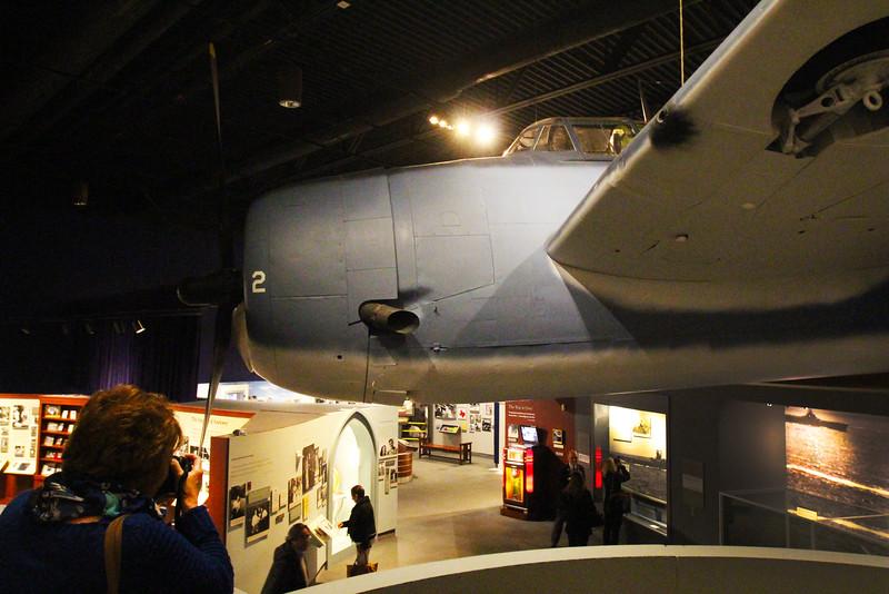 Brenham-Washington County Texas, George Bush Presidential Library & Museum, WWII Exhibit