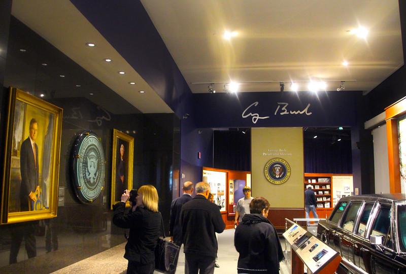 Brenham-Washington County Texas, George Bush Presidential Library & Museum, The Life of George Bush exhibit