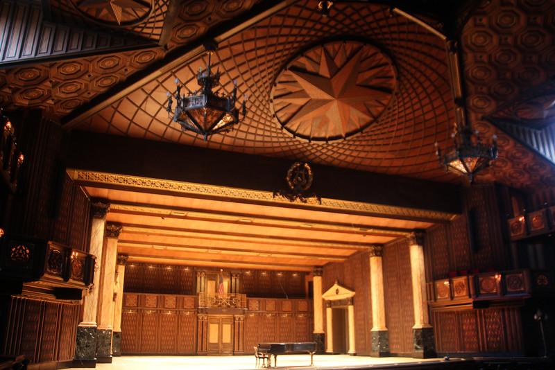 Brenham-Washington County Texas, Round Top Festival Institute,Theatre Stage