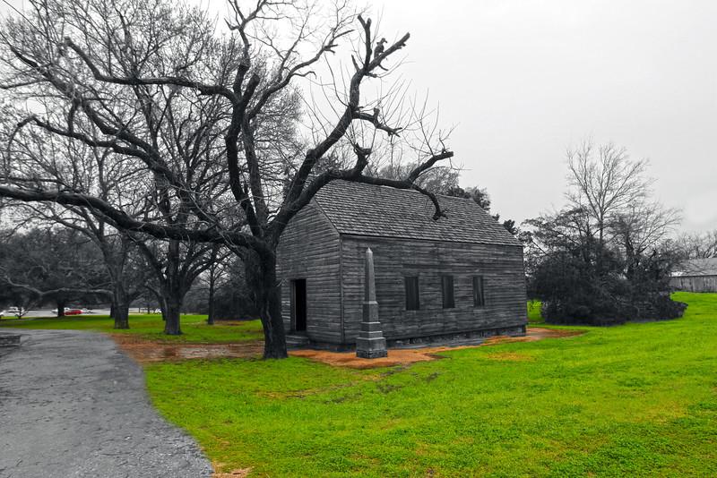 Brenham-Washington County Texas, Washington-on-the-Brazos State Historic Site, Independence Hall BW