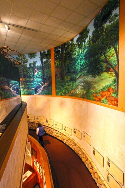Brenham-Washington County Texas, Star of the Republic Museum, Wall Murals
