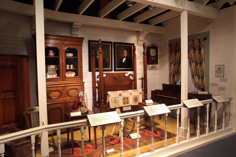 Brenham-Washington County Texas, Star of the Republic Museum, Historic Bedroom