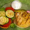 renham-Washington County Texas, Must Be Heaven Restaurant, Seared Salmon Burger