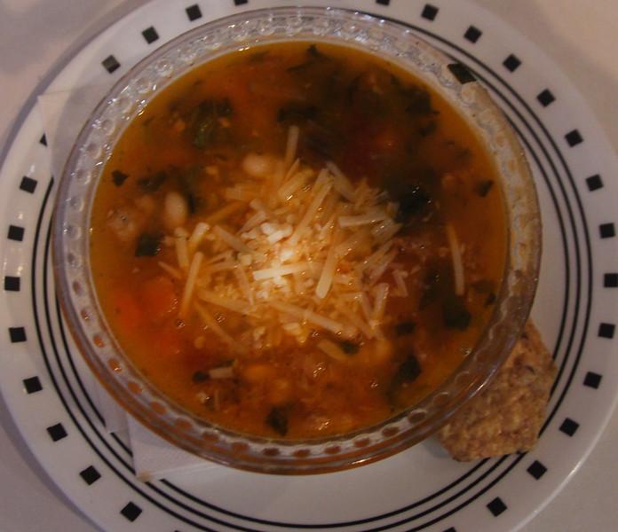 Brenham-Washington County Texas, Funky Art Cafe, Italian Bean Soup