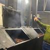 Brenham-Washington County Texas, Nathan's BBQ, Smoking Room