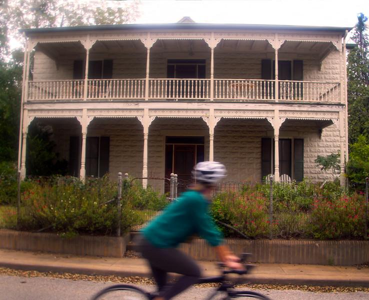Fredericksburg Texas, Tour through Old Town, Jack and Adam's Bicycles