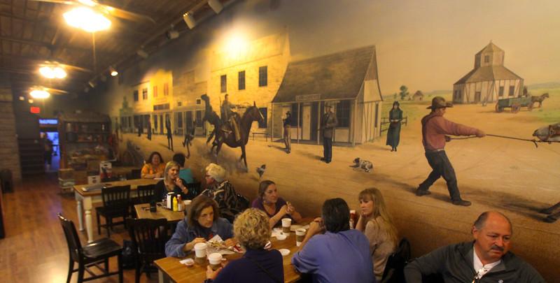 Fredericksburg Texas, Java Ranch Expresso Bar and Cafe