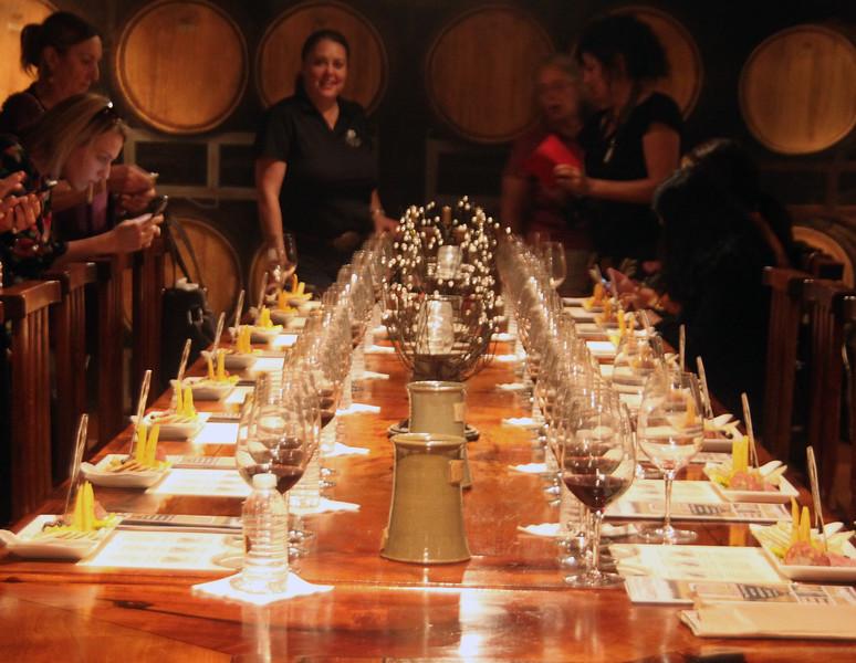 Fredericksburg Texas, Becker Vineyards, The Library Winetasting Event