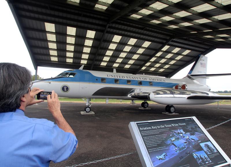 Lyndon B Johnson National Historical Park, Lockheed 1961 JetStar VC-140