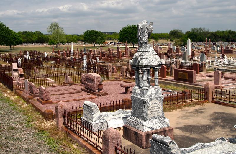 Fredericksburg Texas,  Old German Cemetery