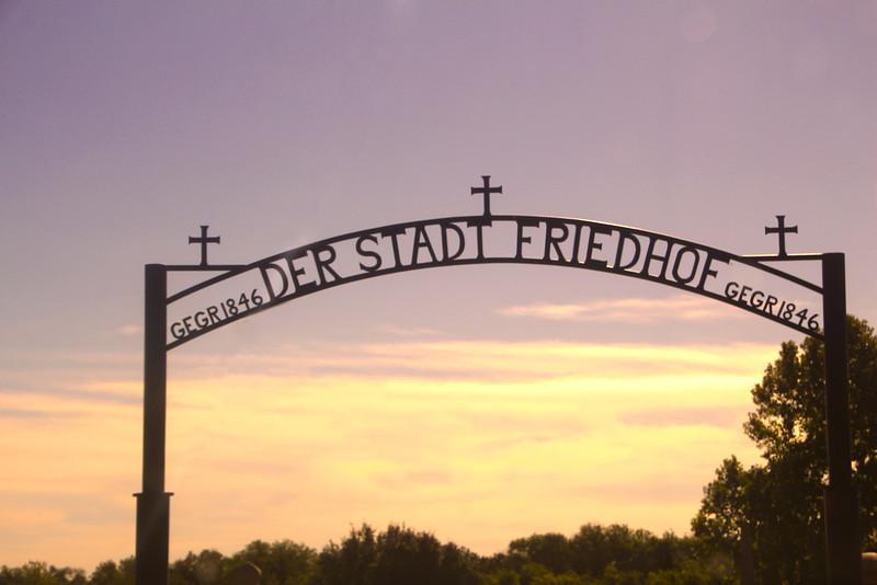 Fredericksburg Texas, German Cemetery
