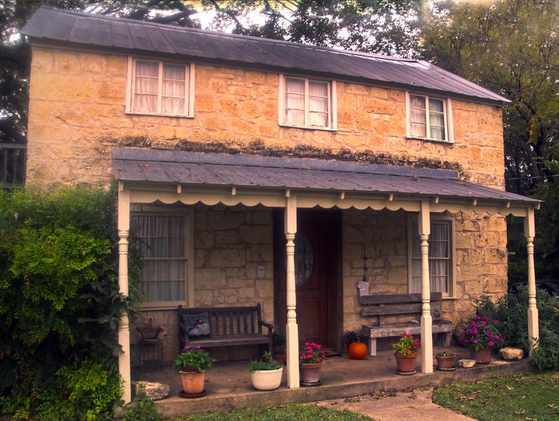Fredericksburg Texas, Old Farmhouse