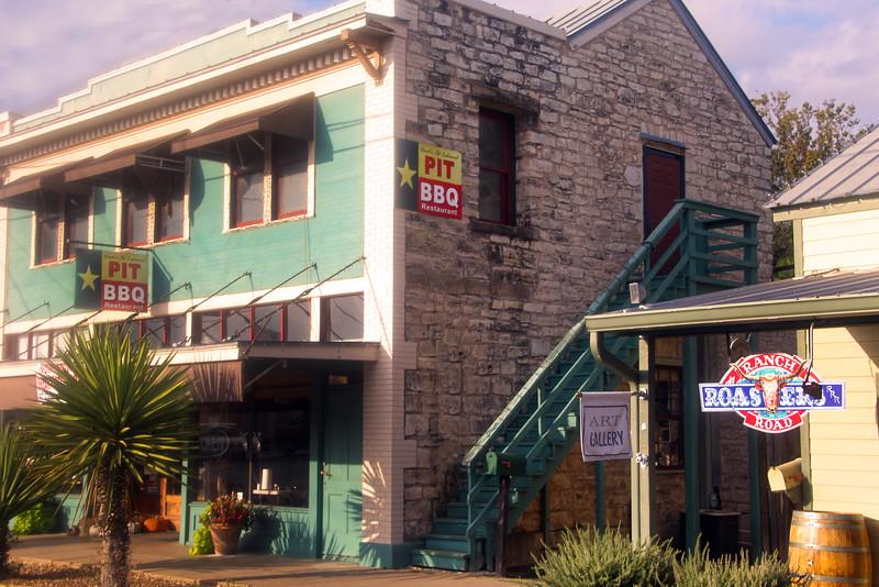 Fredericksburg Texas, BBQ & Art