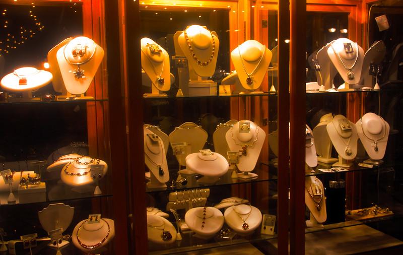 Fredericksburg Texas, Jewelry Storefront