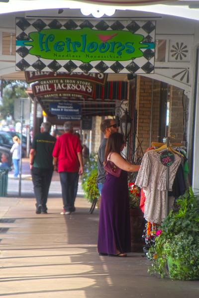 Fredericksburg Texas, Main Street Shopping