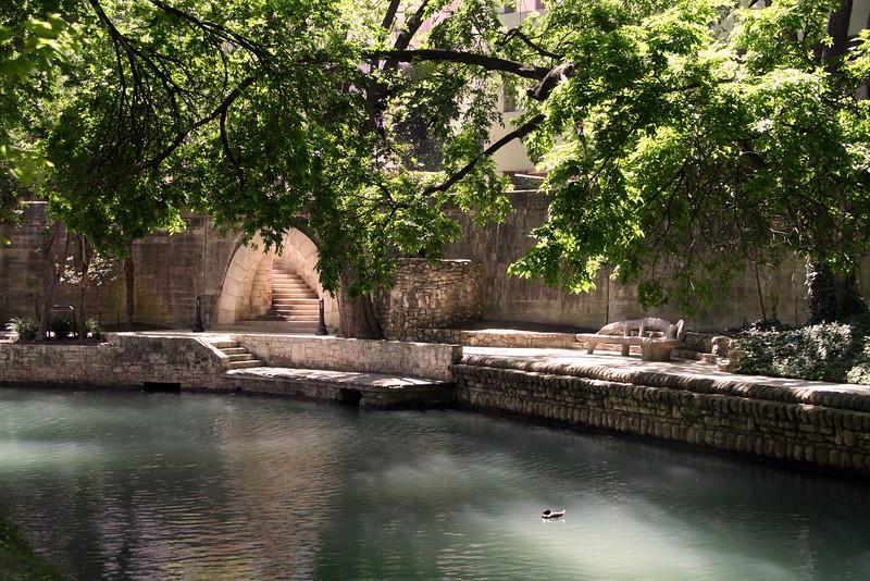 San Antonio Texas, Serene River Walk Scene