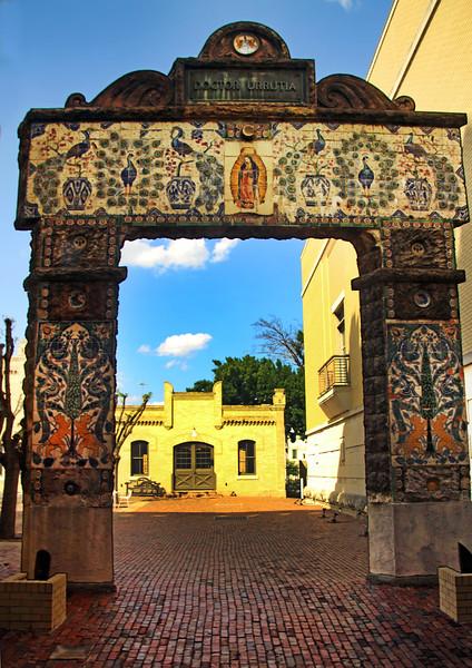 San Antonio Texas, Milaflores Manor Gate, San Antonio Museum of Art