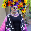 Beautiful costume, San Antonio Day of the Dead