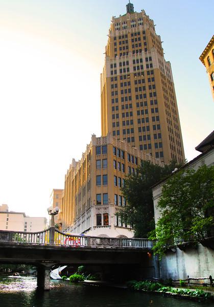 San Antonio Texas, View on Tower Life Building