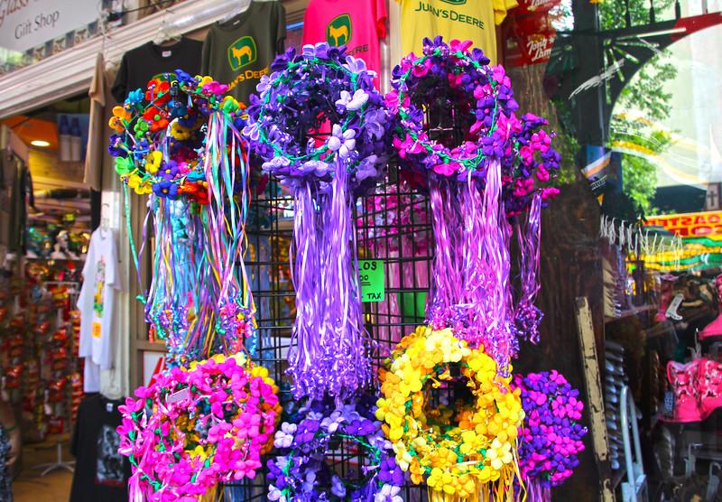 San Antonio Texas, Colorful Fiesta Headpieces