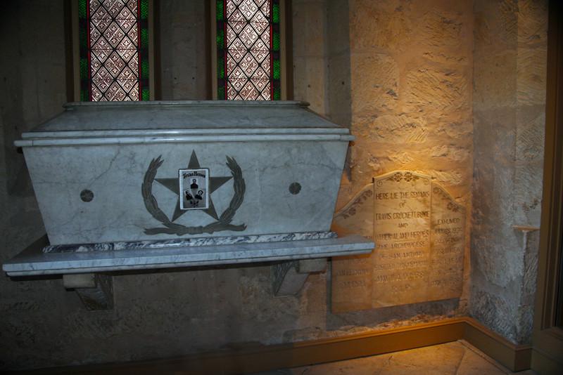 San Antonio Texas, Alamo Soldiers Grave