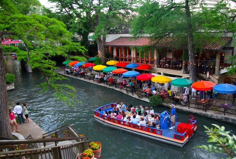 San Antonio Texas, Dining Al Fresco, River Walk