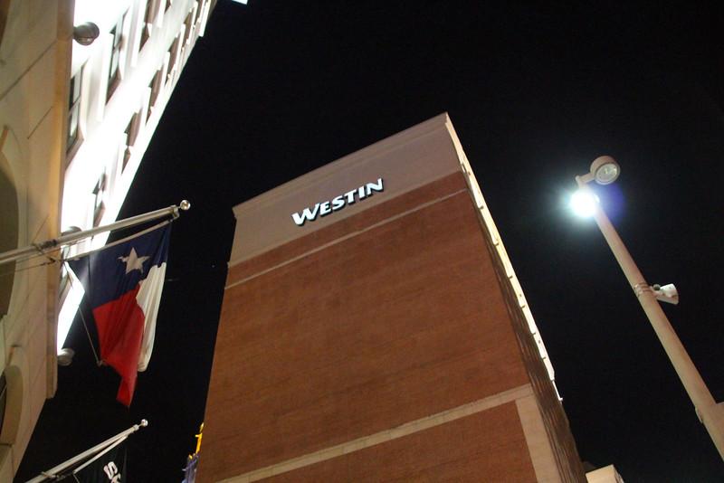 San Antonio Texas, Westin Hotel, Texas Flag