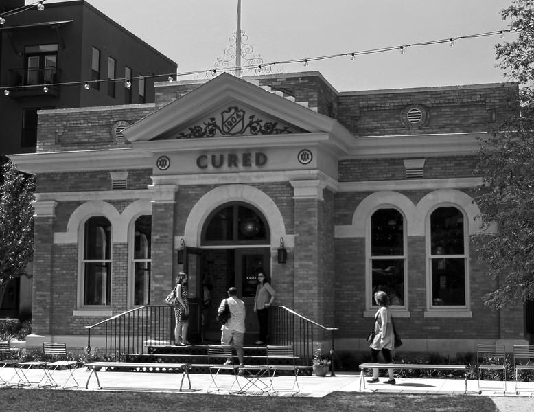 San Antonio Texas, 1904 Building, Cured Restaurant