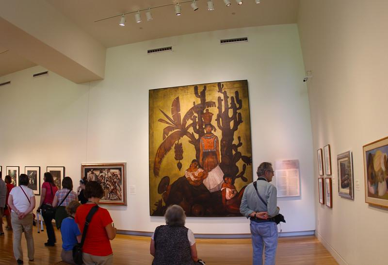 San Antonio Texas, San Antonio Museum of Art, Diego Rivera Exhibit