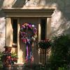 San Antonio Texas, King William's District Home with Fiesta Wreath