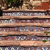 San Antonio Texas, Mexican-Tiled Stairway