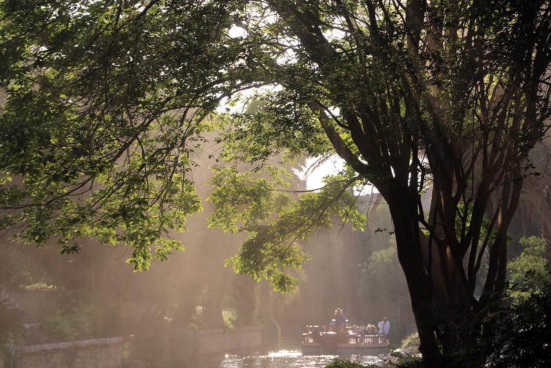 San Antonio Texas, River Walk Mist
