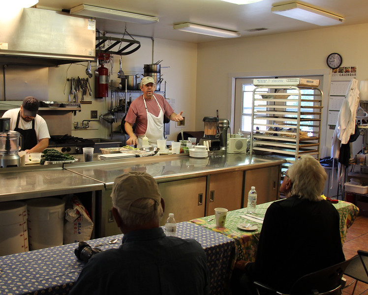 Garth Newell Music Center, Cooking Class with Chef Josh Elliot