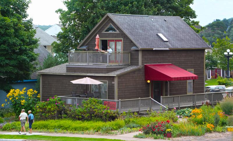 Bayfield Wisconsin, Bayfield Inn, Garden Guest House
