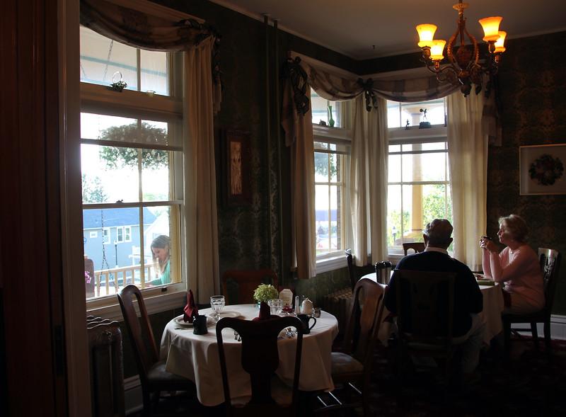 Bayfield Wisconsin, Breakfast, Old Rittenhouse Inn