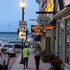 Bayfield Wisconsin, Evening View on Main Street, Highway 13
