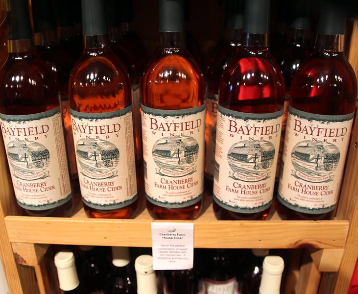 Bayfield Wisconsin, Bayfield Winery Cider