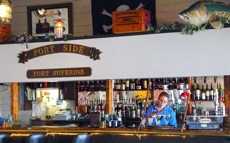 Bayfield Wisconsin, Port Side Restaurant