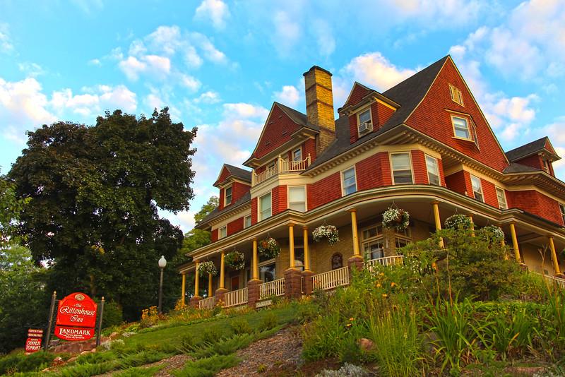 Bayfield Wisconsin, Old Rittenhouse Inn, Side View from Street
