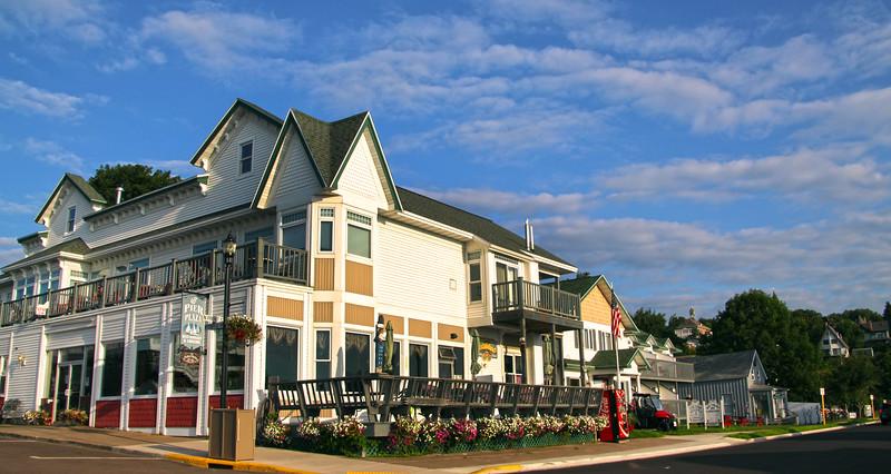 Bayfield Wisconsin, Pier Plaza