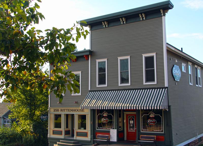 Bayfield Wisconsin, Ethel's at 250 Restaurant