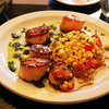 Elkhart Lake Wisconsin, Backporch Bistro, Scallops
