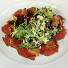Elkhart Lake Wisconsin, Lola's On The Lake, Smoked Carpaccio of Beef