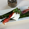 Elkhart Lake Wisconsin, Lola's On The Lake, Grilled Asparagus, prosciutto, poached egg